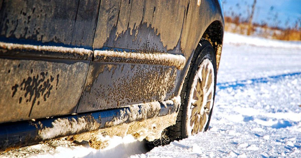 Как защитить автомобиль от реагентов зимой