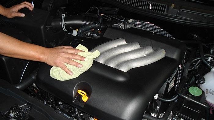 Как правильно помыть двигатель автомобиля