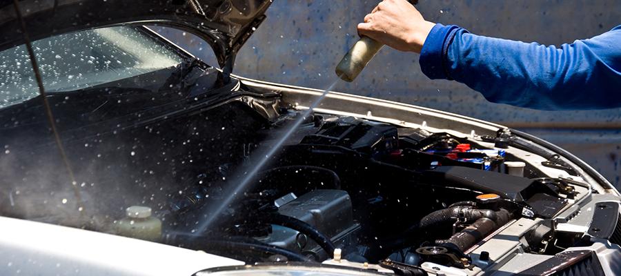 Как помыть двигатель, если автопроводка уже не свежая