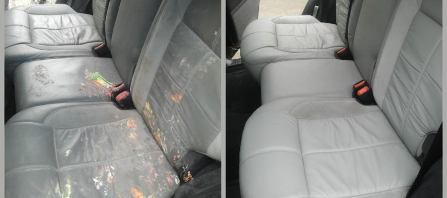 Чем очистить пятна в салоне автомобиля?
