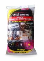 Набор салфеток экономичный многофункциональный AVS MF-6120 (10шт, 30х30см)