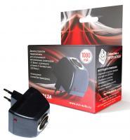 Cетевой адаптер (переходник сеть-прикуриватель) 1000mAh AVS AD-22012A