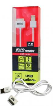 Кабель AVS для iPhone 4 (1м) IP-41
