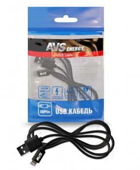 Кабель AVS для iPhone 5/6/7/8/X (1м) IP-511