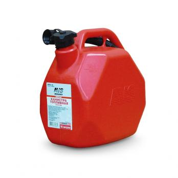 Канистра топливная пластик.10л.(красная) AVS MTK-10