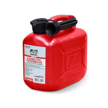 Канистра для топлива (пластик) 5л (красная) AVS TPK-05