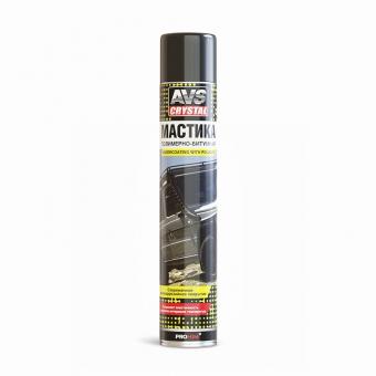 Мастика полимерно-битумная (аэрозоль) 1000 мл AVS AVK-160