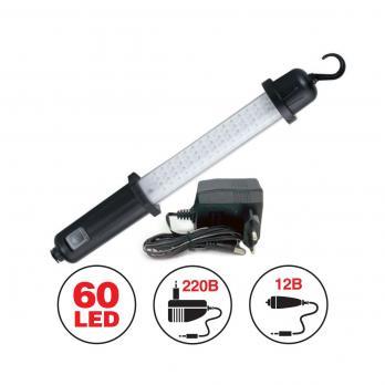 Светильник переносной AVS CD607A (60LED) 220/12B (акб)
