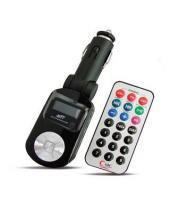 MP3 плеер + FM трансмиттер с дисплеем и пультом AVS F-525 (черный)