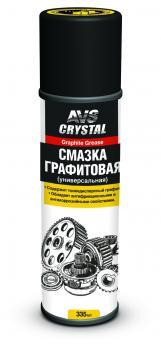 Смазка универсальная графитовая 335 мл (аэрозоль) AVS AVK-143