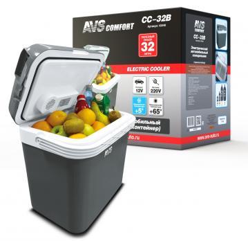 Холодильник автомобильный AVS CC-32B (32л 12В/220В)