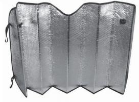 "Шторка солнцезащитная (на лобовое стекло) SH-107F-S Single Bubble"" 130x60 cm"""
