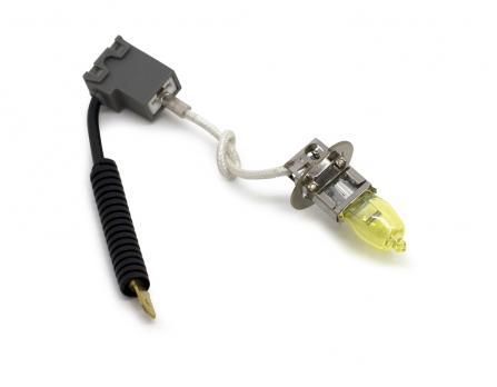 """Газонаполненные лампы EVO Alfas """"Максимальная освещённость"""" жёлтый, 2800К H3, комплект 2 шт."""