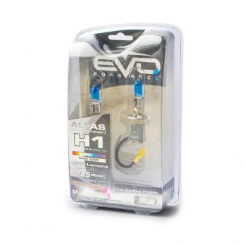 Газонаполненные лампы EVO Alfas +130% / 4300K / H1 комплект 2 шт