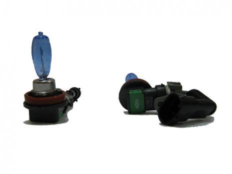Газонаполненные лампы EVO Alfas +130% / 4300K / H8 комплект 2 шт