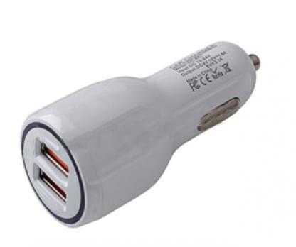 USB автомобильное зарядное устройство AVS 2 порта UC-123 Quick Charge (2,4А)