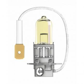 Лампа галогенная AVS ATLAS ANTI-FOG / желтый H3.24V.70W (блистер, 2 шт.)