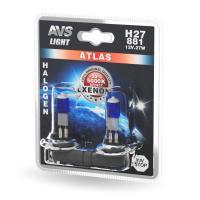 Лампа галогенная AVS ATLAS /5000К/ H27/881 12V.27W (блистер, 2 шт.)
