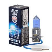 Лампа галогенная AVS ATLAS BOX /5000К/ H3.12V.55W (1 шт.)
