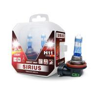 Лампа галогенная AVS SIRIUS NIGHT WAY H11.12V.55W Plastic box -2 шт.