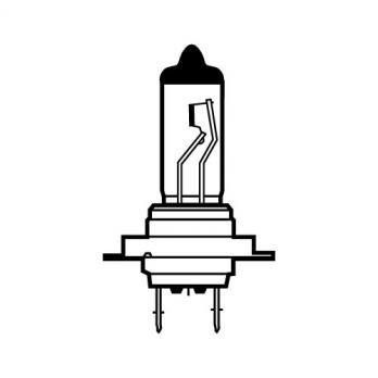 Лампа галогенная AVS Vegas H7.24V.70W (1 шт.)