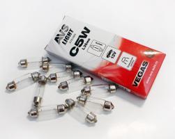 Лампа AVS Vegas 12V. С5W (SV8.5/8) L36мм. BOX (10 шт.)