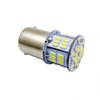 T15 S099B /белый/(BAY15D) 54SMD 3014 10-30V 2 contact, коробка 2 шт