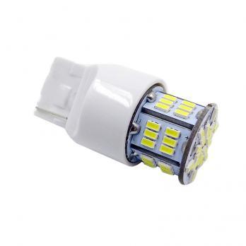 T20 T113B /белый/(W3*16D) 54SMD 3014, 2 contact, коробка 2 шт.