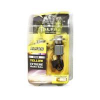 """Газонаполненные лампы AVS Alfas"""" """"Максимальная освещённость"""" жёлтый 2800К H4, комплект 2 шт."""""""