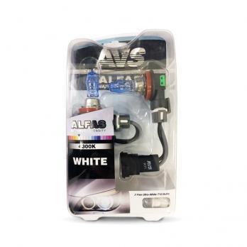 Газонаполненные лампы AVS Alfas +130% 4300K H11 комплект 2 шт.