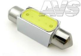 T11 SV024 /белый/ (SV8.5) 36mm 2W HIGH POWER, блистер, 2 шт