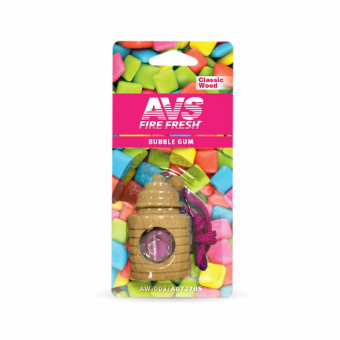 Ароматизатор AVS AW-003 Classic Wood (аром. бабл гам/bubble gum) (жидкостный)
