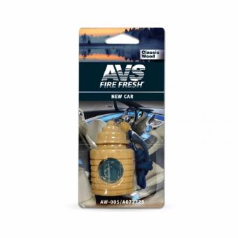 Ароматизатор AVS AW-005 Classic Wood (аром. Новая машина/new car) (жидкостный)