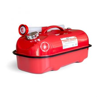 Канистра топливная металлическая горизонтальная 10 л (красная) AVS HJM-10
