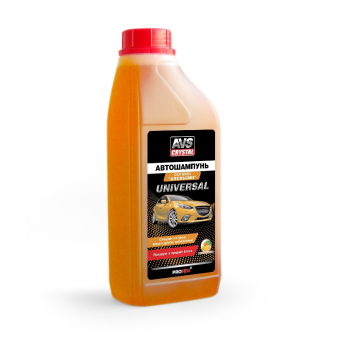 Автошампунь Универсальный (апельсин) 1л AVS AVK-704