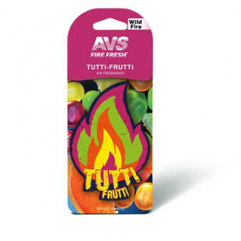 Ароматизатор AVS AFP-012 Fire Fresh (Tutti-frutti/Тутти-Фрутти)