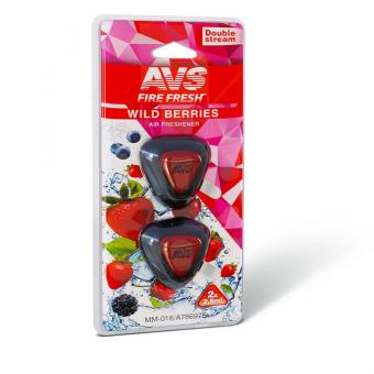 Ароматизатор AVS MM-016 Double Stream (Wild Berries/Дикие ягоды) (мембранный)