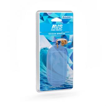 Ароматизатор AVS SG-004 Amulet (Ocean breeze/Океанский бриз) (гелевый)