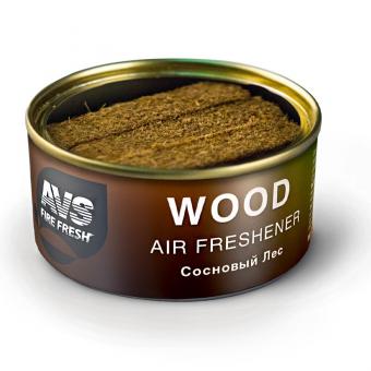 Ароматизатор AVS WC-020 Natural Fresh (аром. Wood - Сосновый лес/Wood) (древесный)