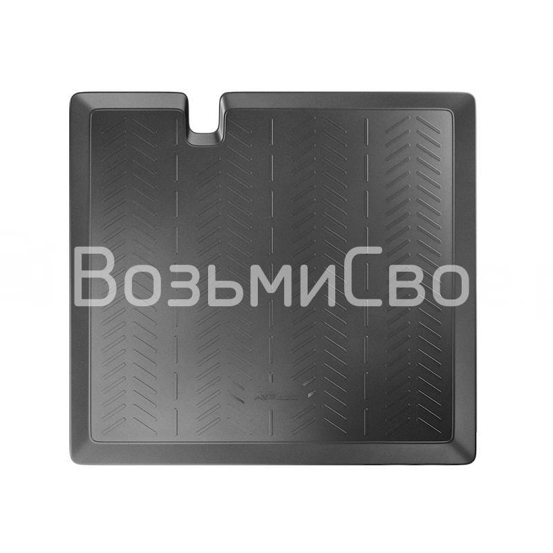 Ковёр в багажник 3D Lada Vesta SW (Cross) (2017-) (верхн.,на фальшпол) AVS BK-36
