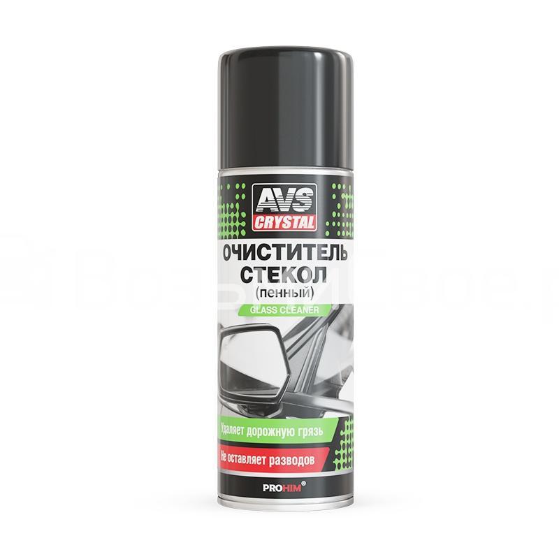 Очиститель стекол (пенный) (аэрозоль) 520 мл AVS AVK-673