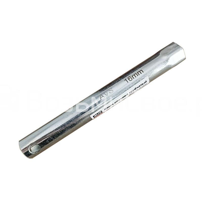 Ключ свечной трубчатый 16мм (160 мм) AVS PTW-16160