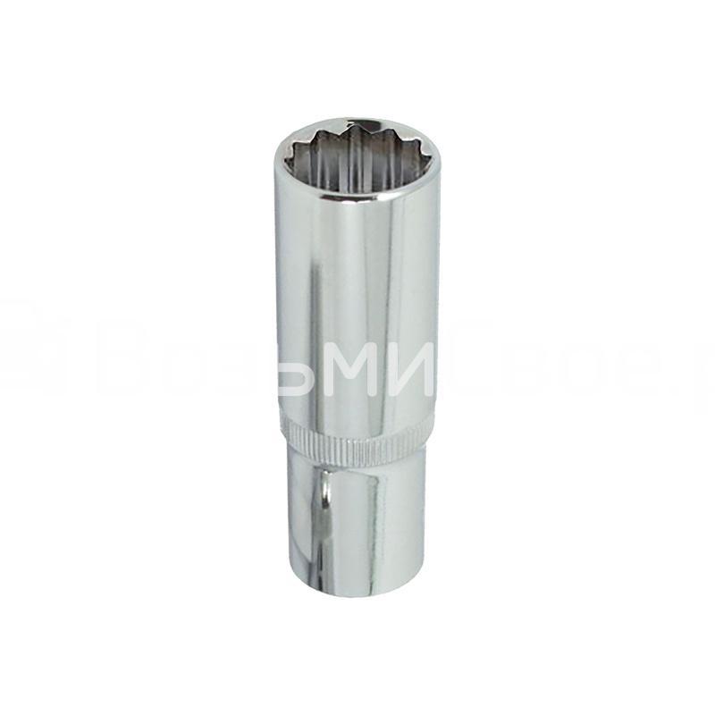 Головка глубокая 12-гранная 1/2 DR (8 мм) AVS H31208