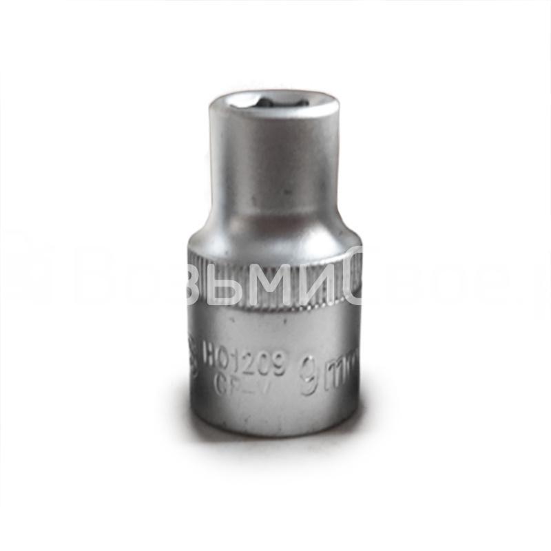 Головка торцевая 6-гранная 1/2''DR (9 мм) AVS H01209
