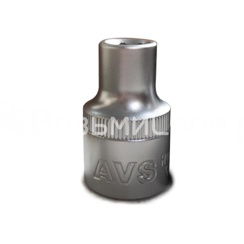 Головка торцевая 6-гранная 1/2''DR (8 мм) AVS H01208