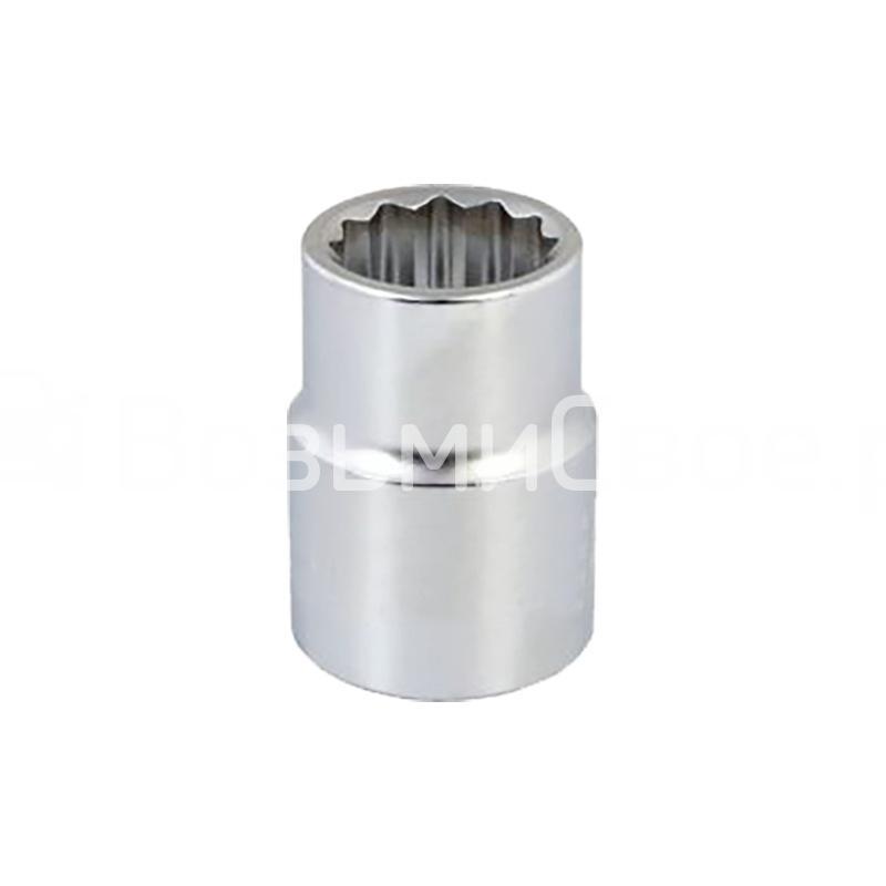 Головка торцевая 12-гранная 1/2''DR (27 мм) AVS H21227