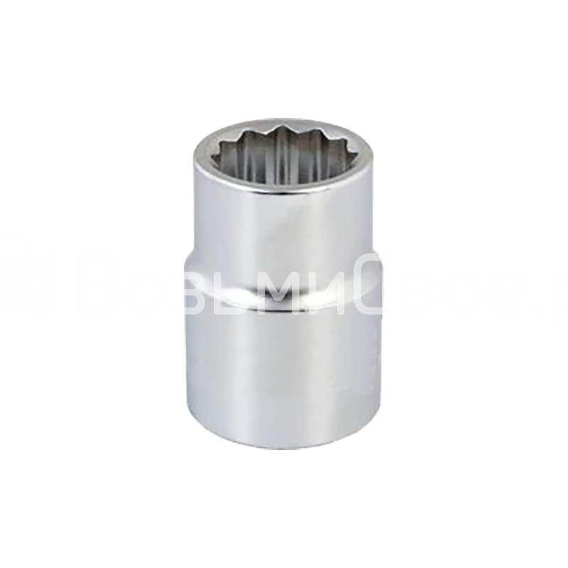 Головка торцевая 12-гранная 1/2''DR (12 мм) AVS H21212
