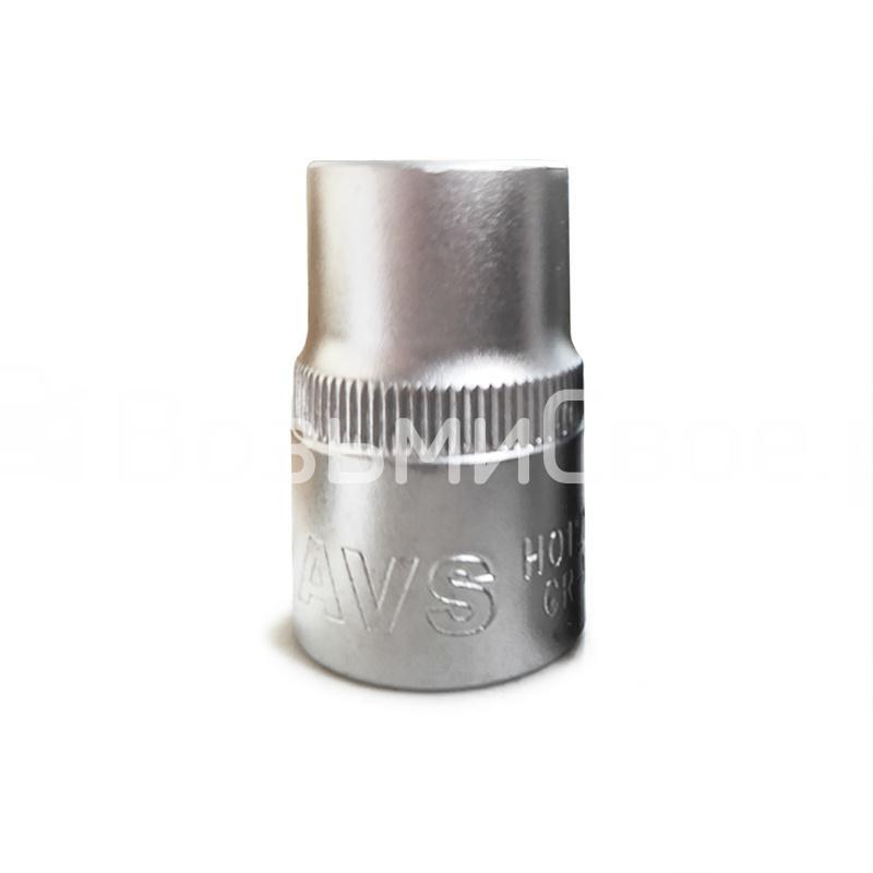 Головка торцевая 6-гранная 1/2''DR (18 мм) AVS H01218