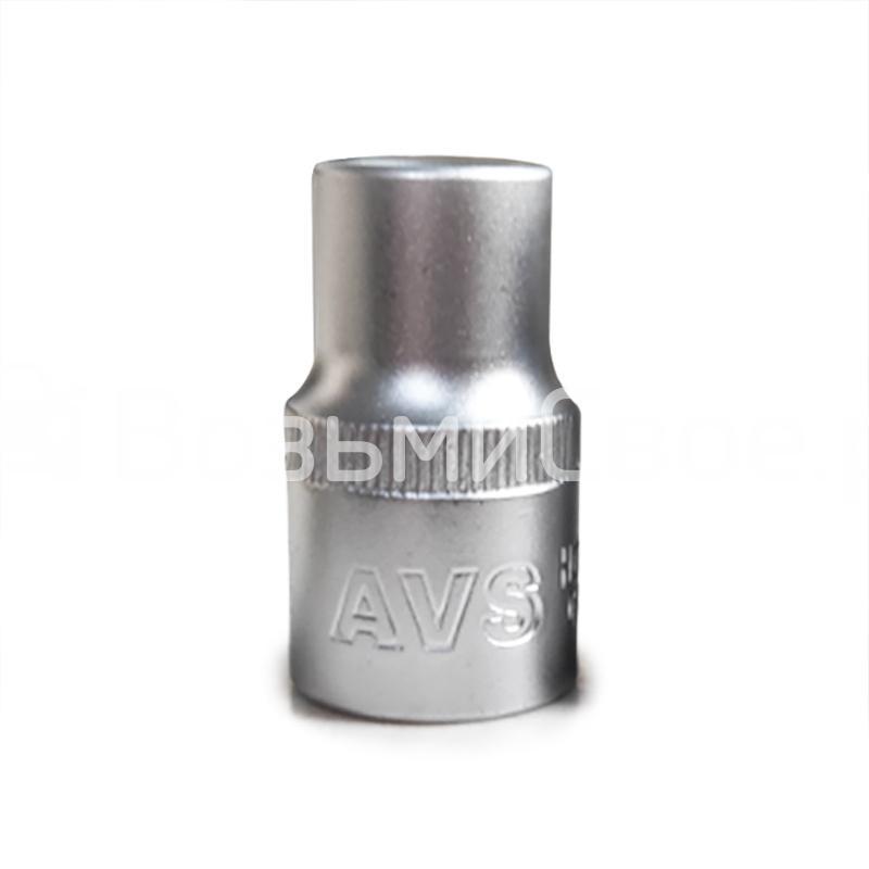 Головка торцевая 6-гранная 1/2''DR (12 мм) AVS H01212
