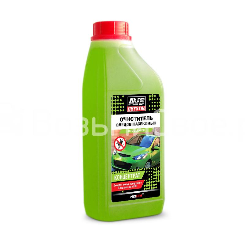 Очиститель следов насекомых (концентрат) 1 л AVS AVK-698